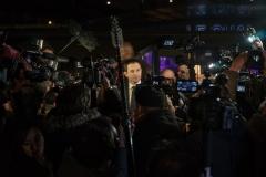 Paris, le 22 Janvier 2017Benoit Hamon a remporté le premier tour de la primaire de la gauche avec plus de 35% des voix selon les premières estimations.